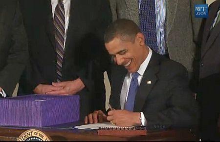 Obama firma ley shepard