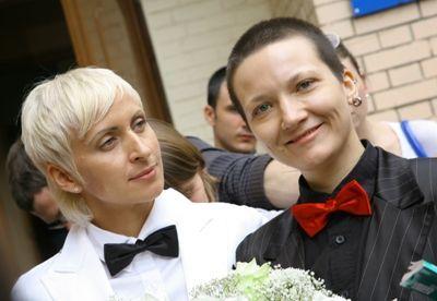boda pareja lesbianas rusas toronto