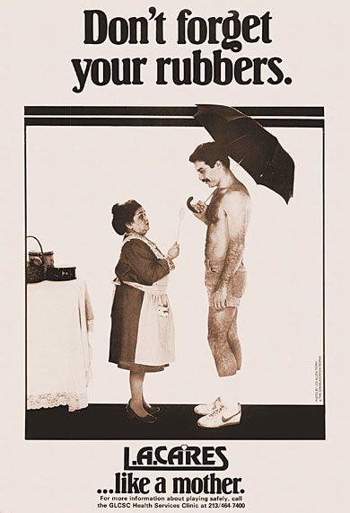 Zelda Rubinstein cartel VIH