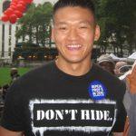 El estadounidense Dan Choi, expulsado del Ejército por ser abiertamente gay, podría ir a la cárcel por una de sus acciones de protesta