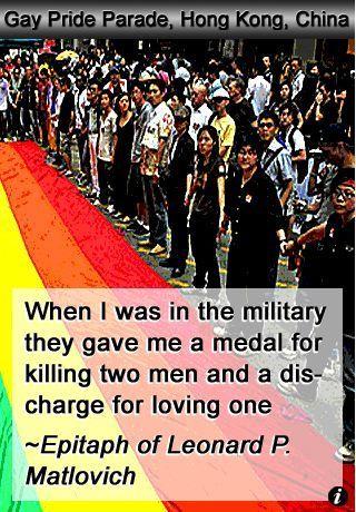 citas militares gay