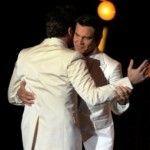 La retransmisión de los Óscar evitó mostrar el beso entre Javier Bardem y Josh Brolin