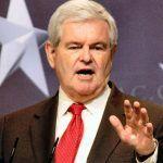 Candidato homófobo a la presidencia de Estados Unidos recibe una lluvia de purpurina por parte de un activista
