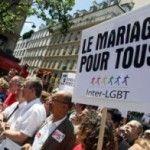 Cientos de miles de personas marchan en París y Berlín a favor de los derechos LGTB