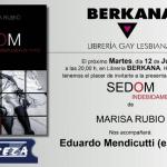 Sedom, una novela de Marisa Rubio