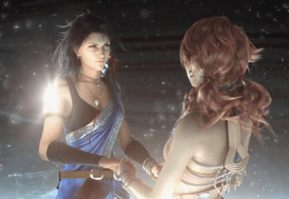Relación lésbica en Final Fantasy XIII