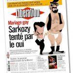 «Libération» afirma, de forma errónea, que Sarkozy estudia incluir en su programa el matrimonio entre personas del mismo sexo