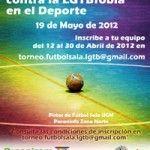 2º Torneo de Fútbol Sala contra la LGTBfobia y la Discriminación en el Deporte el próximo 19 de Mayo en Madrid