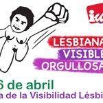 ALEAS IU se suma al Día de la Visibilidad Lésbica