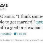 Concejal del PP compara el matrimonio igualitario con la zoofilia en Twitter y luego dice que fue malinterpretado