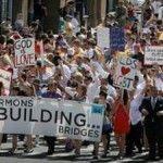 Grupo mormón participa en el Orgullo LGTB de Salt Lake City (Utah)
