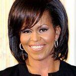 Activista lesbiana reivindica la igualdad LGTB durante un discurso de Michelle Obama