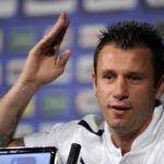 La UEFA multa con 15.000 euros a Cassano por sus declaraciones homófobas