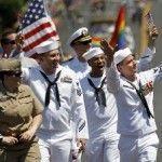 Militares de uniforme participan por primera vez en un Orgullo LGTB en Estados Unidos