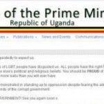 Activistas informáticos consiguen tomar control de páginas web del gobierno de Uganda, en protesta por políticas homófobas