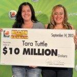 Florida: lesbiana gana 10 millones de dólares a la lotería y comparte su difícil historia personal