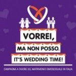 Nuevas iniciativas a favor del matrimonio igualitario en Italia