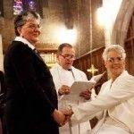 Primera boda de una pareja del mismo sexo en la capilla de la Academia Militar de West Point