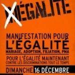 Francia: decenas de miles de personas salen a la calle a favor del matrimonio igualitario