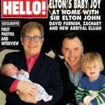 Elton John y David Furnish presentan a su segundo hijo en «Hello!»