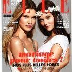 La edición francesa de ELLE da su apoyo en portada al matrimonio igualitario