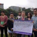 Las agrupaciones juveniles de los principales partidos políticos neozelandeses apoyan el matrimonio igualitario