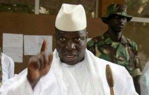 Yahya Jammeh presidente de Gambia