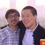 Joven chino propone matrimonio a su novio chileno ante las cámaras de televisión