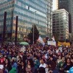 Éxito de la «Marcha por la Igualdad» en Santiago de Chile