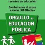 ALEAS-IU respalda la convocatoria de huelga general educativa del próximo 9 de mayo: ¡Orgullo es educación pública!