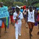 Un centenar de valientes celebran el segundo Orgullo LGTB de la historia de Uganda