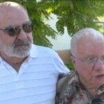 Dos hombres de 95 y 67 años se casan en una residencia de ancianos veteranos de California