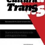 Nueva edición de «Cultura Trans» los días 18,19 y 20 de octubre en Barcelona