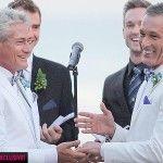 Greg Louganis, leyenda viva del salto de trampolín, contrae matrimonio en Malibú con Johnny Chaillot