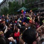 Miles de personas reclaman en Santiago de Chile la futura aprobación de una ley de matrimonio igualitario