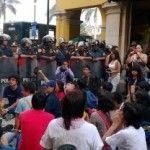 """La acción """"Besos contra la Homofobia"""", nuevamente reprimida por la policía en Lima"""