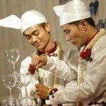 Pareja gay de Myanmar (Birmania) celebra una boda simbólica con gran repercusión mediática