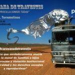 «Caravana de travestis» rumbo al Orgullo Solidario de Torremolinos como protesta por el veto del Ayuntamiento