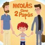 """El cuento infantil """"Nicolás tiene dos papás"""" revoluciona la sociedad chilena"""
