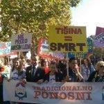 Primera celebración pacífica del Orgullo LGTB de Montenegro