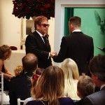 Tras nueve años de unión civil, Elton John y David Furnish han podido finalmente contraer matrimonio