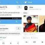 La camada fascista de Twitter amenaza de muerte a dos activistas LGTB