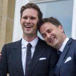 El primer ministro de Luxemburgo, el abiertamente gay Xavier Bettel, contrae matrimonio con Gauthier Destenay