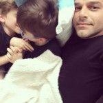 Ricky Martin, a sus hijos: «Nunca permitan que nadie ni nada les haga sentir que no pueden ser ustedes mismos»