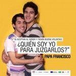 Un activista LGTB, entre los invitados a un acto del papa Francisco en Paraguay