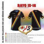 El Rayo Vallecano incorpora una banda arcoíris en su segunda equipación como iniciativa social