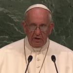 El papa Francisco aprovecha su alabado discurso ante Naciones Unidas para lanzar otra vez un sutil mensaje de LGTBfobia