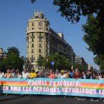 Las manifestaciones del Pride Barcelona y de la Comissió Unitària 28 de Juny culminan la celebración del Orgullo LGTB en Barcelona