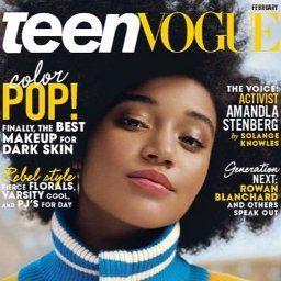 Amandla Stenberg Teen Vogue