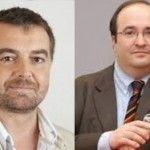 Dos políticos gays en alza: Antonio Maíllo (ganador de las primarias de IU en Andalucía) y Miquel Iceta (próximo líder del PSC)